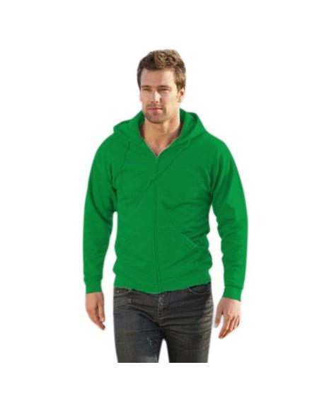 Bluza z suwakiem i kapturem KEYA 280 g/m2 (SWZ280)