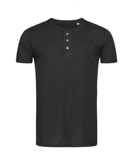 T-shirt Stedman MEN SHAWN HENLEY 140 g/m2 (ST9430)