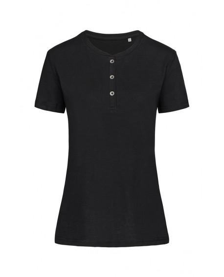 T-shirt Stedman Women Sharon Henley T-shirt 140 g/m2 (ST9530)