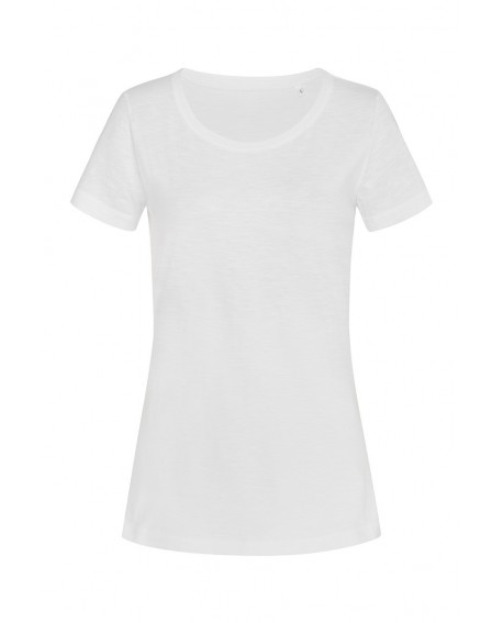 T-shirt Stedman Women Sharon Slub Crew Neck 140 g/m2 (ST9500)