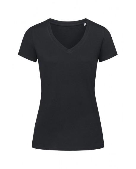 T-shirt Stedman Women JANET ORGANIC V-NECK 155 g/m2 (ST9310)