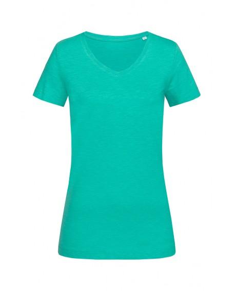 T-shirt Stedman Women SHARON SLUB V-NECK 140 g/m2 (ST9510)