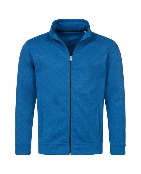 Bluza polar Stedman MEN KNIT FLEECE JACKET 280 g/m2 (ST5850)