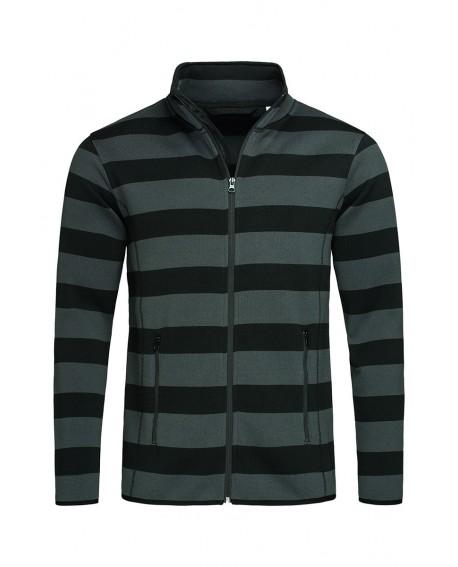 Bluza polar Stedman Men Striped Fleece Jacket 280 g/m2 (ST5090)