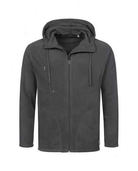 Bluza polar Stedman Men Hooded Fleece Jacket 220 g/m2 (ST5080)