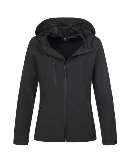 Kurtka damska Stedman Women Softest Shell Hooded Jacket 250 g/m2 (ST5340)