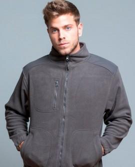 Bluza polar 495 g/mb (330 g/m2) ze wstawkami w kolorze polaru i kontrastowymi