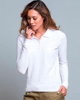 Koszulka polo Women długi rękaw 200 g/m2
