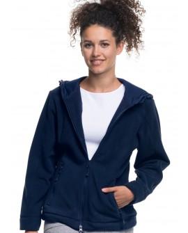 Bluza polar damska z kapturem 420 g/mb (280 g/m2)