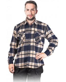 Koszula flanelowa gruba 205 g/m2