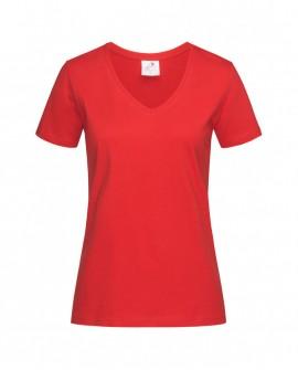 T-shirt Stedman Women Classic-T V-Neck 155 g/m2 (ST2700)