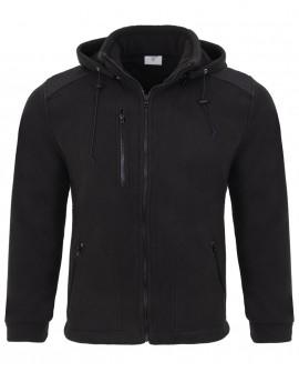 Bluza polar z odpinanym kaputrem 525 g/mb (350 g/m2)