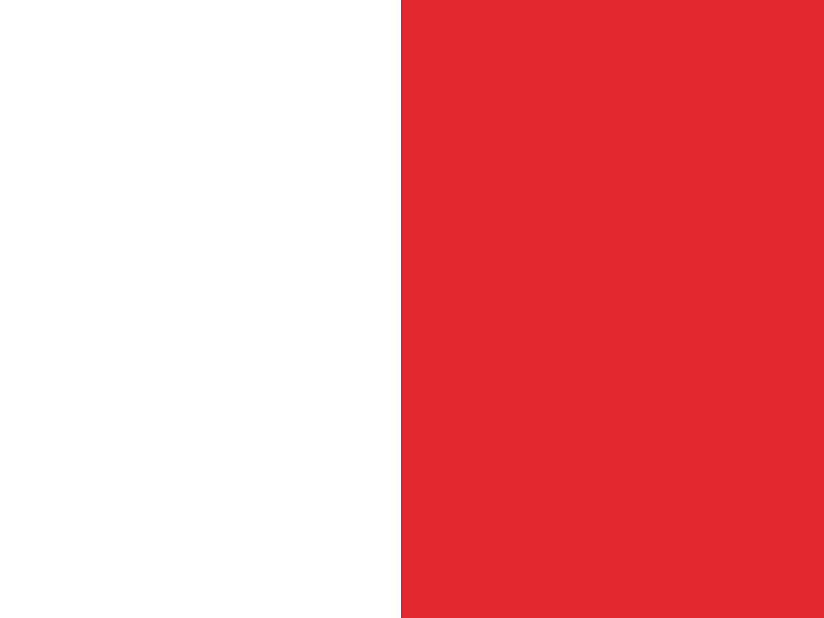 Biało/czerwony