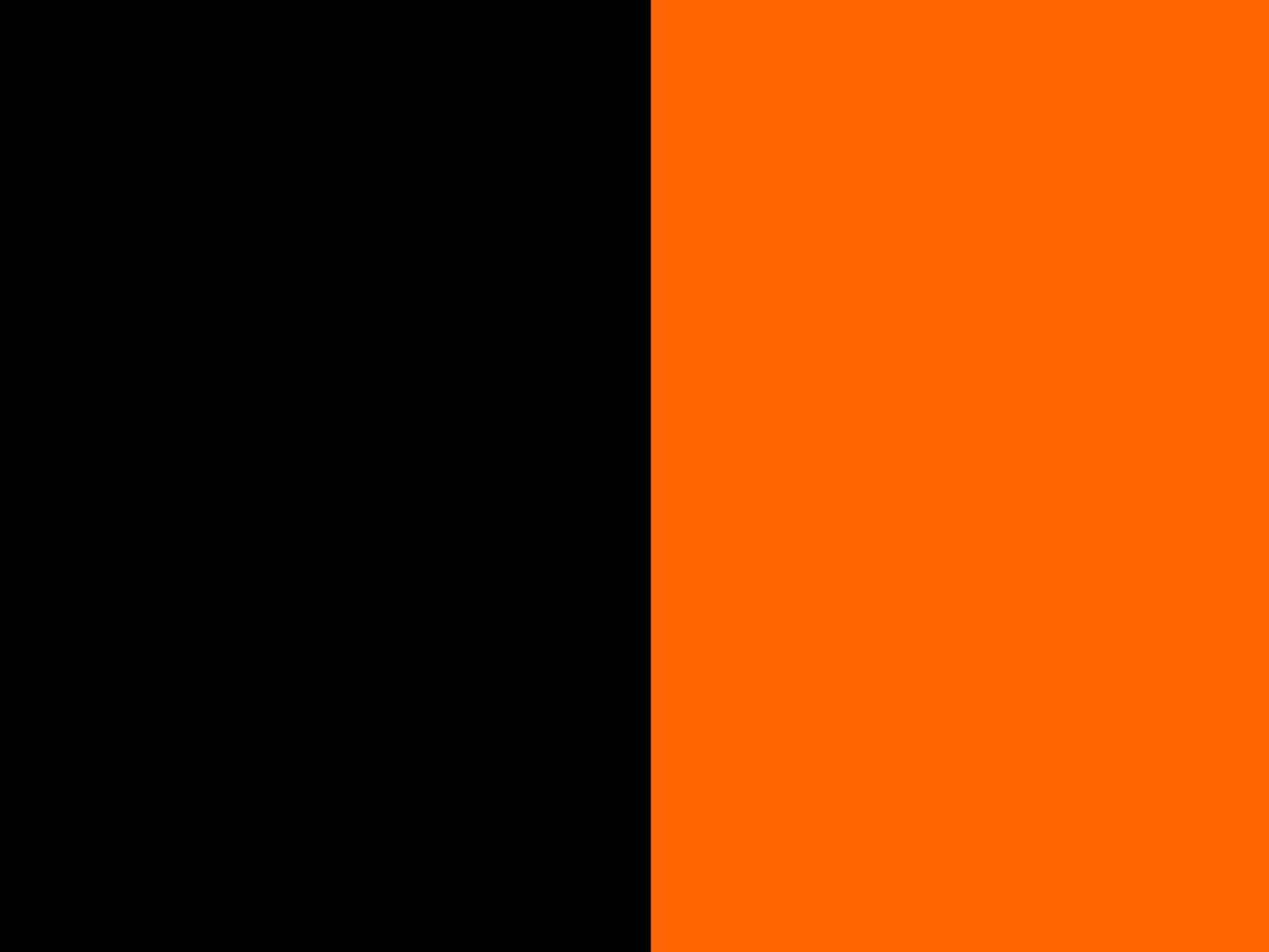 Czarno/pomarańczowy