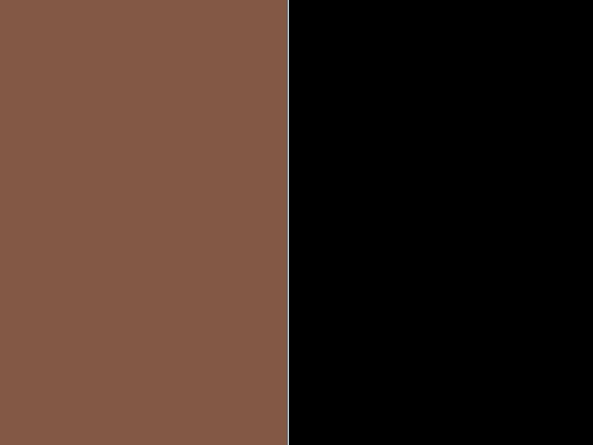 brązowo/czarny
