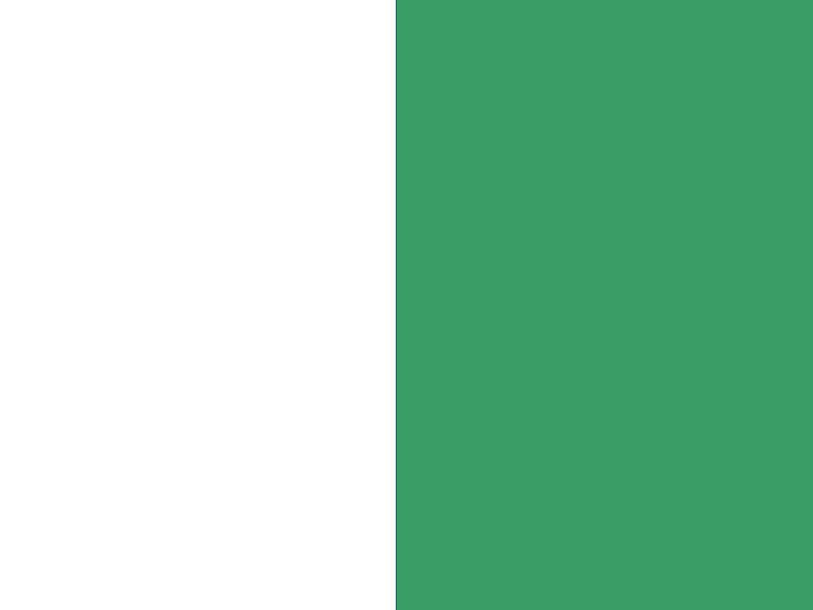 Biało/zielony